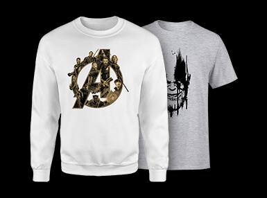 <b>Avengers Infinity Wars Clothing</b>