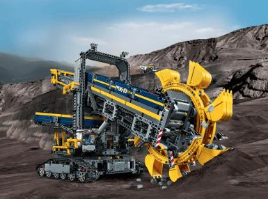 <b>乐高</b> TECHNIC <b>科技系列<br>斗轮挖掘机</b> (42055)