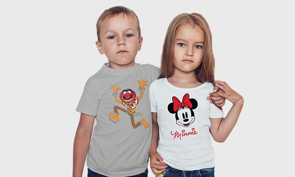 2 For £15 Officially Licensed Disney Kids' T-Shirts
