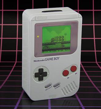 Nintendo Game Boy Tin Money Box - White