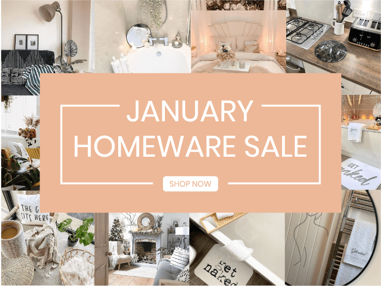 January Homeware Sale