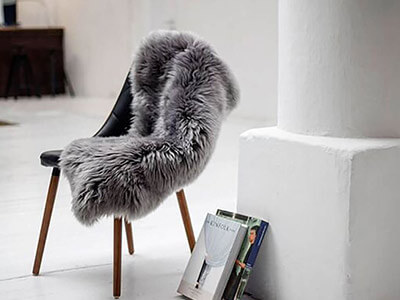 Sheepskin Rugs and Stools