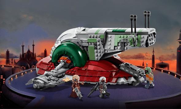 <b>乐高 星球大战系列<br>赏金猎人飞船</b><br>(75243)