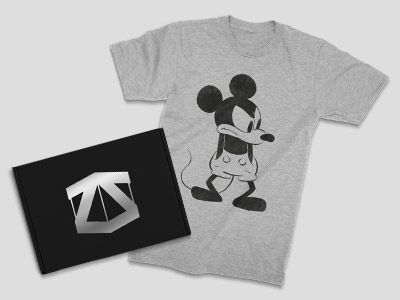 FREE DISNEY T-SHIRT WHEN YOU BUY ANIMATION MYSTERY ZBOX
