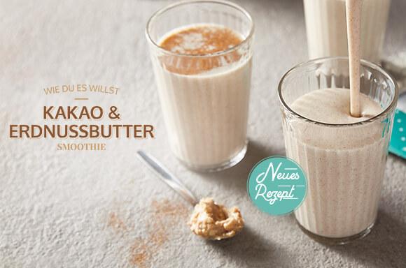 Kakao & Erdnussbutter Smoothie