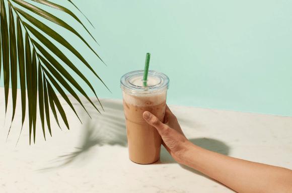 Karamell Latte Frappe | Exante Diät