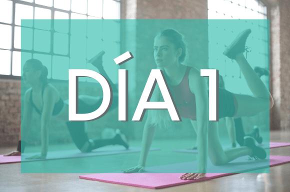 Día 1 (Semanas 1 y 2) del Plan de Entrenamiento Exante