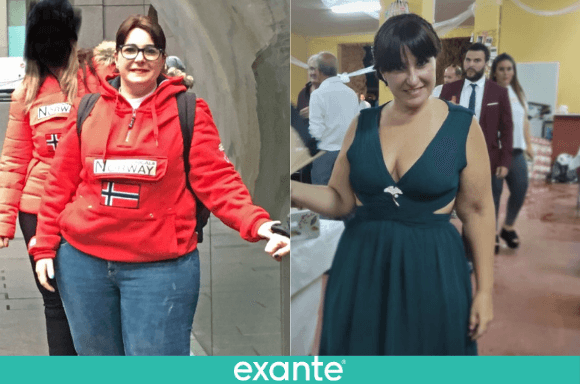 Mª del Carmen <br>ha perdido 23kg