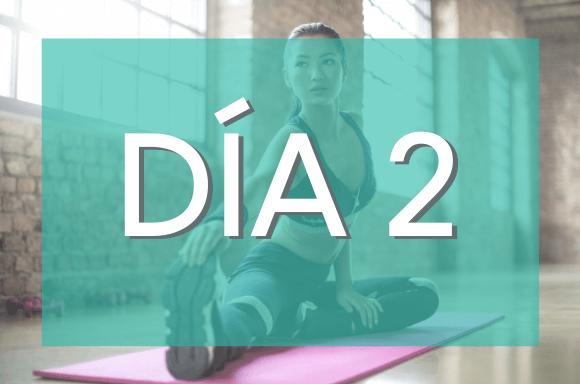 Día 2 (Semanas 1 y 2) del Plan de Entrenamiento Exante