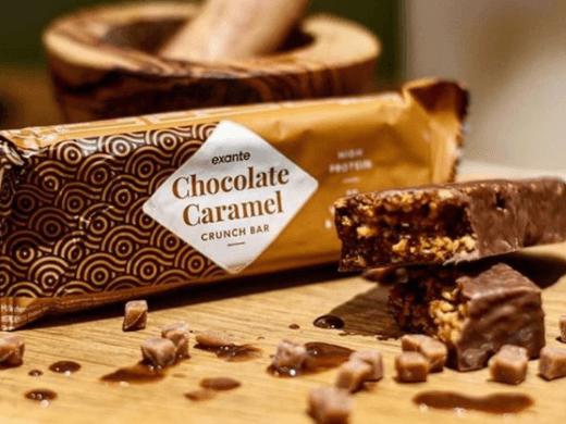 Barrita Cruijiente de Chocolate y Caramelo Exante
