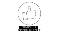 Simple y Conveniente