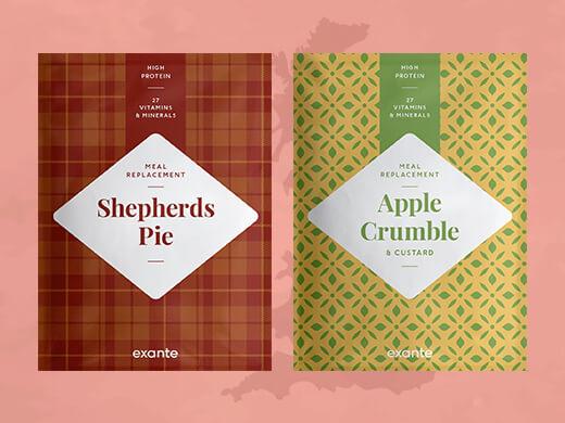 Shepherd's Pie and Crumble di Mele e Crema