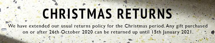 Christmas Returns Policy 2020