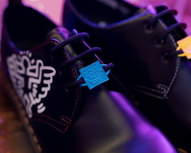 Dr. Martens X Keith Haring 1461 Shoe - Black