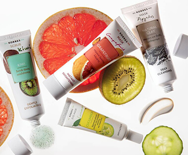 Korres Cleansers, Exfoliators & Masks