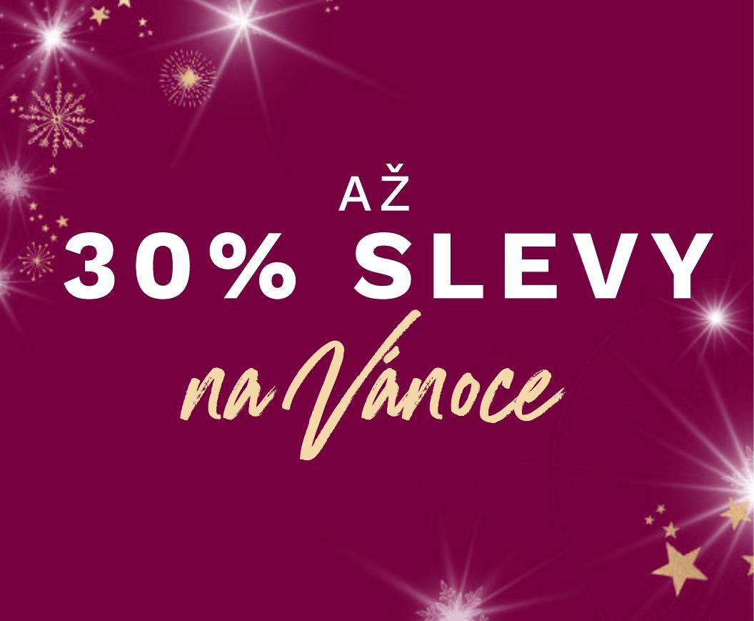 Slevy 30% na vánoční dárky