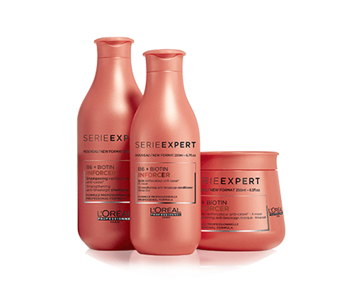Strengthen and protect weak/brittle hair with this professional range, infused with Biotin B6.