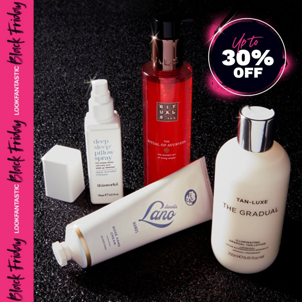 Save up to 30% on bodycare