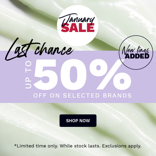 WINTER SALE - ENJOY UP TO 50% OFF