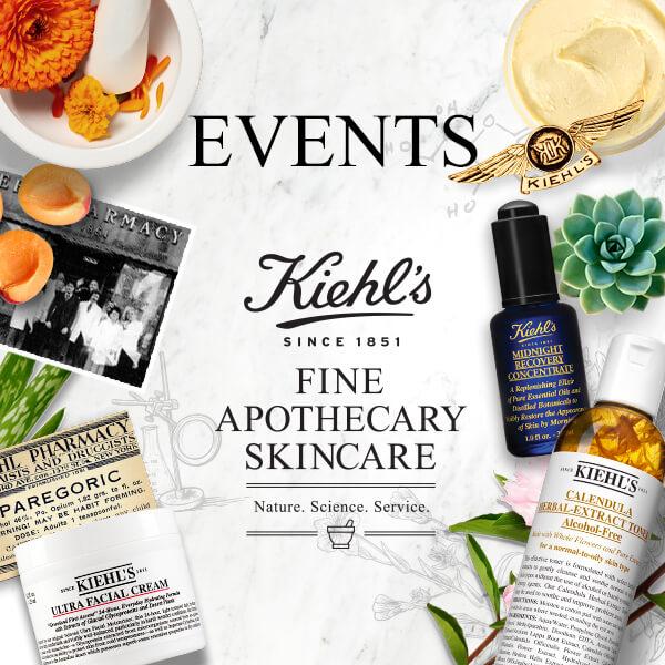 kiehl's events