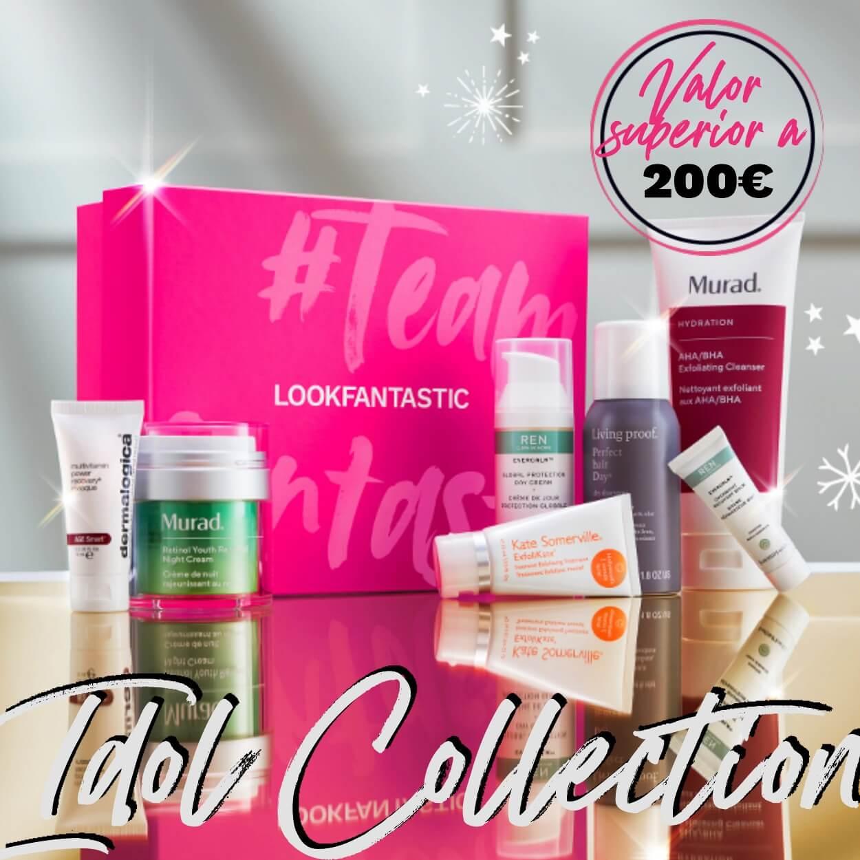 La Beauty Box de LOOKFANTASTIC Idol Collection