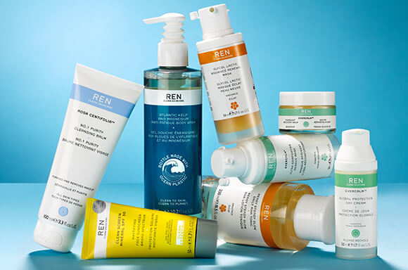 THIS IS REN CLEAN SKINCARE.