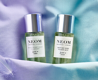 NEOM has an amazing range of body care and home fragrances such as the signature NEOM candles to help your body and mind relax from a busy day