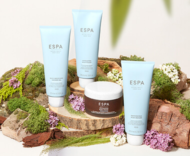ESPA Bath Oil, Hand Cream & Body Lotion