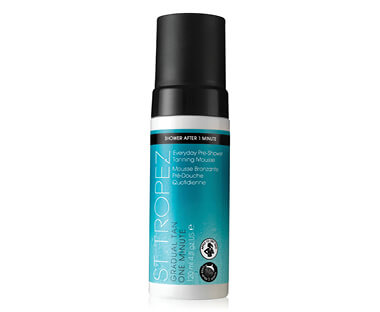 NEW GRADUAL TAN 1 MINUTE PRE-SHOWER TANNING MOUSSE