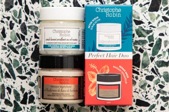 Shop Christophe Robin's Perfect Hair Duo