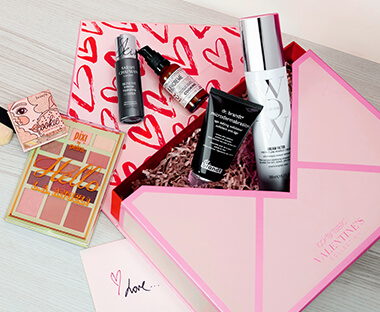 cosmetics box from lookfantastic