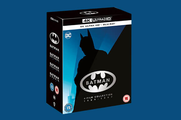 Batman 4-Film Collection 4K Ultra HD Boxset