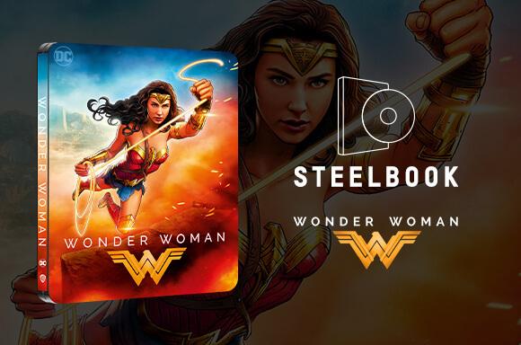 Wonder Woman - Zavvi Exclusive 4K Ultra HD Steelbook