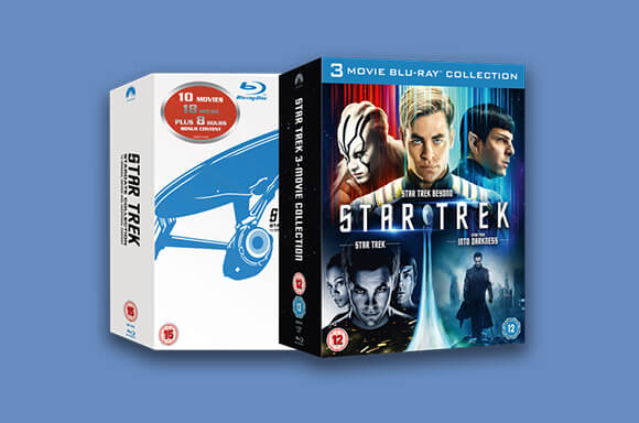 Star Trek Blu-ray & DVD PREISSTURZ