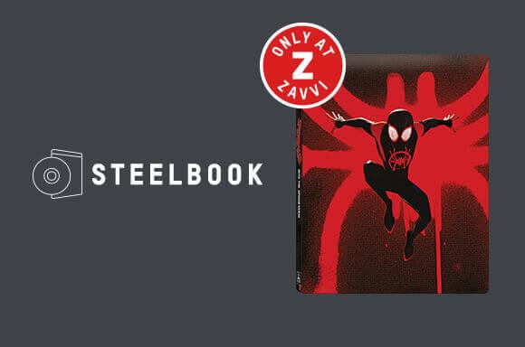 SPIDER-MAN: A NEW UNIVERSE STEELBOOK