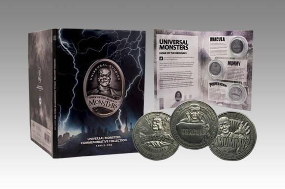 UNIVERSAL MONSTERS LIMITED EDITION MÜNZEN ALBUM