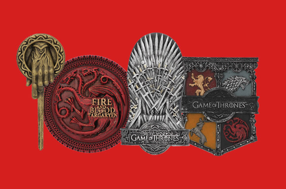 3 FOR £12 GAME OF THRONES MAGNETS