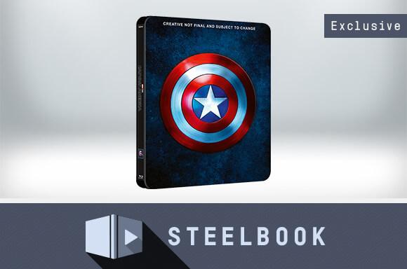 CAPTAIN AMERICA 1-3 COLLECTION STEELBOOK