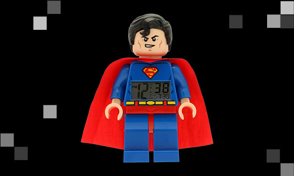 Retro LEGO Clocks