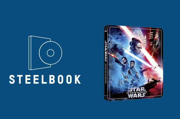STAR WARS: EPISODE IX - THE RISE OF SKYWALKER 3 DISC 4K ULTRA HD STEELBOOK