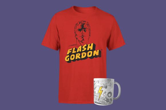 FLASH GORDON TEE & MUG JUST £8.99