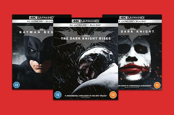 Batman Begins 4k, Dark Knight 4k, Dark Knight Rises 4k