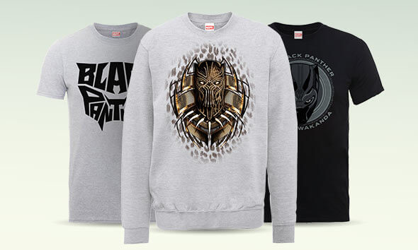 OFFICIAL BLACK PANTHER CLOTHING