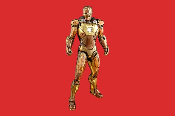 Hot Toys Marvel Iron Man Mark XXI (Midas) 1:6 Scale Action Figure - UK Exclusive