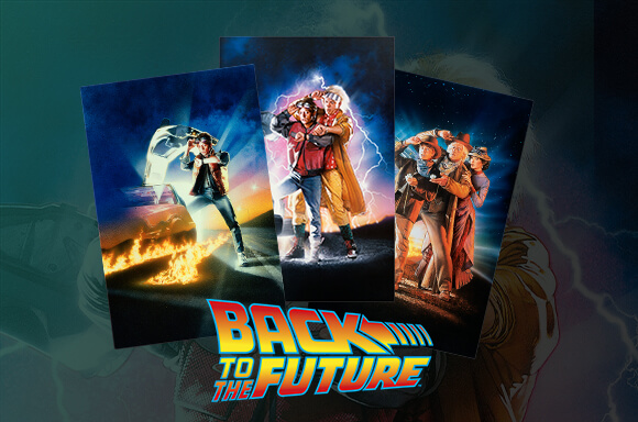 Back To The Future Metal Poster Launch / 3 for £60
