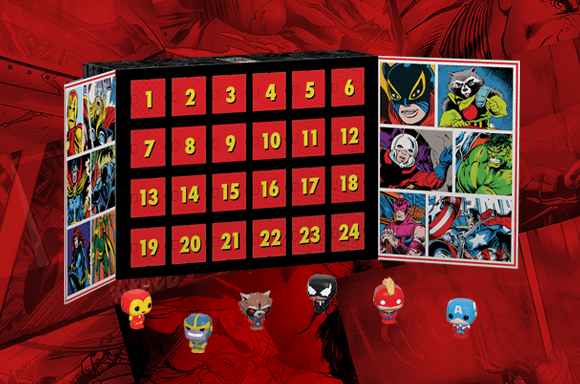 NEW MARVEL POP! VINYL ADVENT CALENDAR