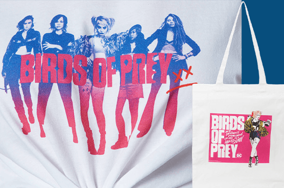 DC – T-shirt & Tote Bundle only £8.99