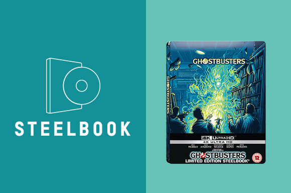 GHOSTBUSTERS (1984) <BR>ZAVVI EXCLUSIVE STEELBOOK