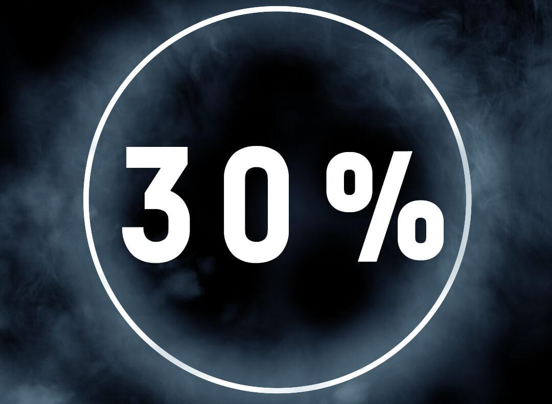 EXTRA 30% OFF MERCHANDISE!
