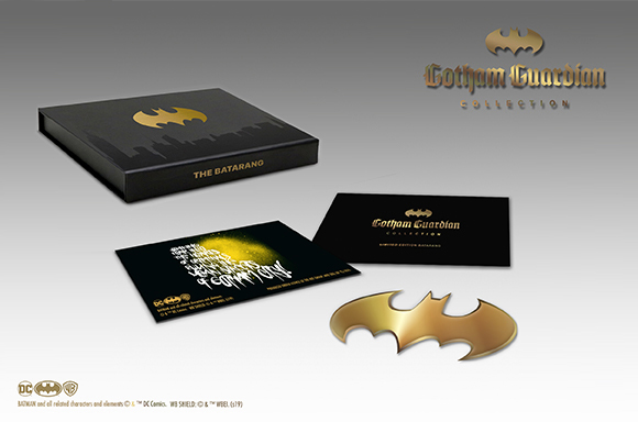 LIMITED EDITION GOLD BATMAN BATARANG